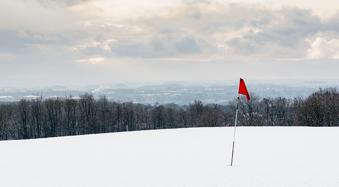 golf season enders, indoor golf facility