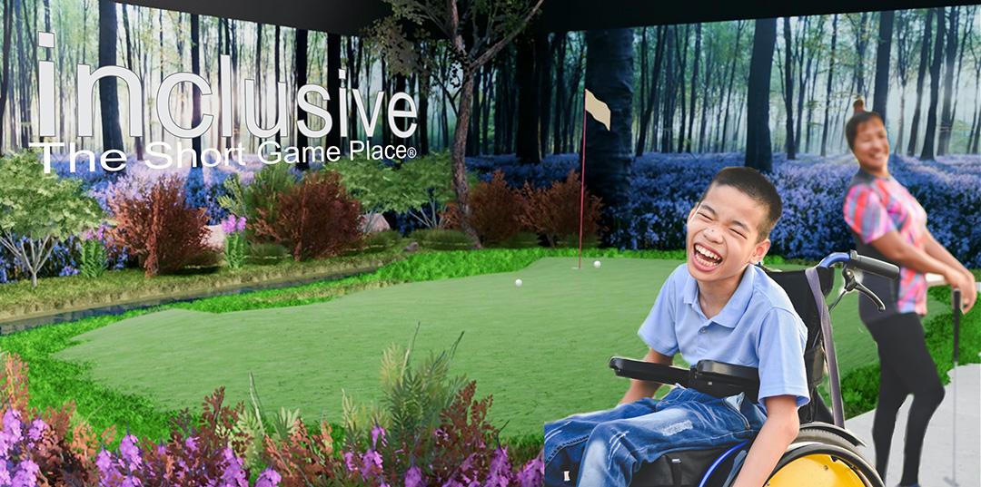 universal design, inclusive golf facility, accessible